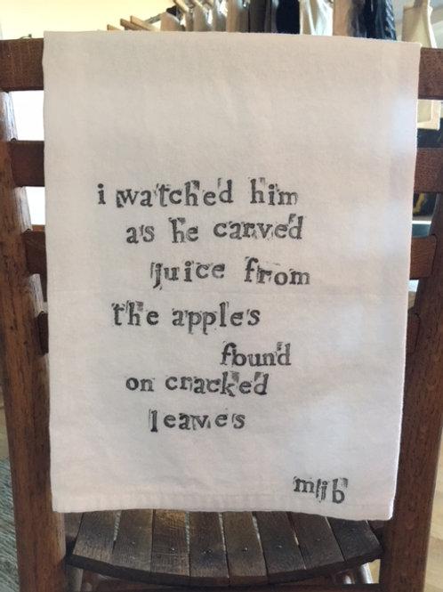 Orchard Picnic Towel