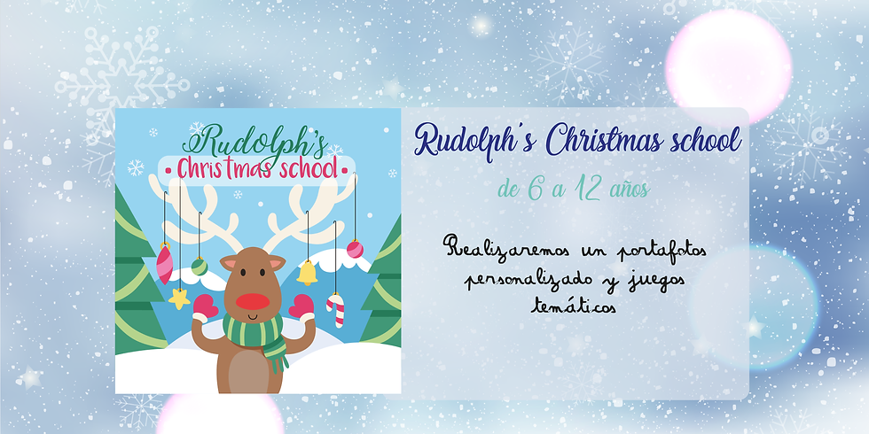 Rudolph's Christmas school