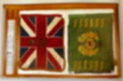 Regimental colours St John's Canberra