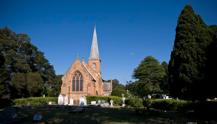 St John's Church was consecrated in 1845
