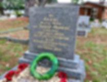 Anzac grave Ernest Murray