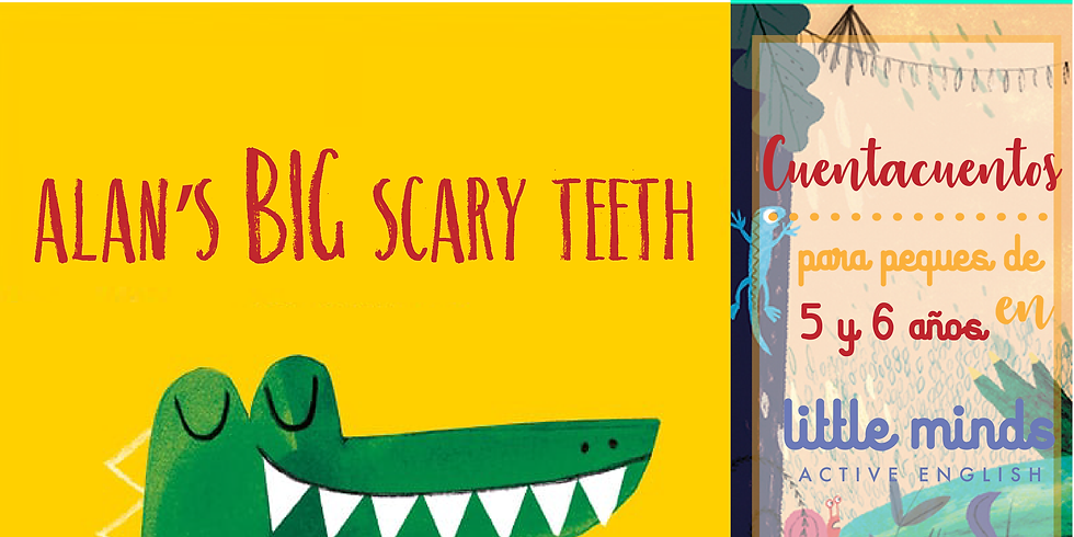 Alan's big scary teeth
