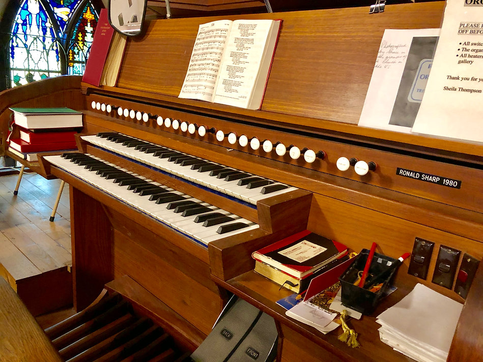 Pipe Organ Canberra Anglican chuch