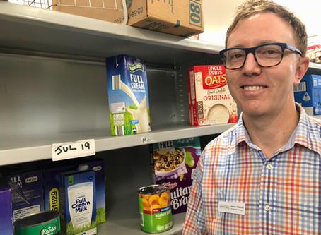 St John's Care shelves empty