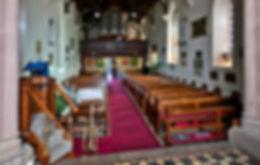 Interior St John's Church Reid Canberra