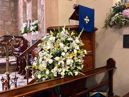 flowers volunteer church Canberra