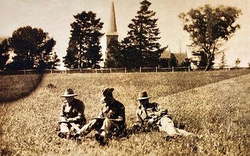 First World War soldiers St John's Canberra