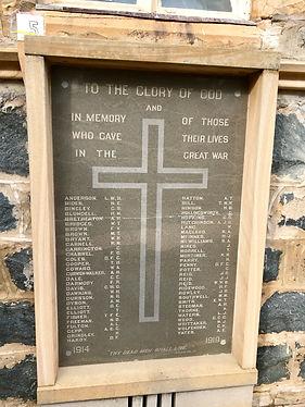 World War I War Memorial