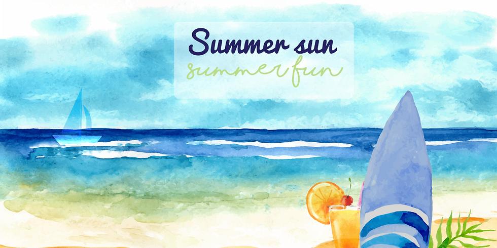 Summer sun, summer fun!