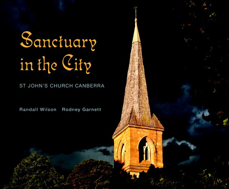 Coffee table book St John's Canberra
