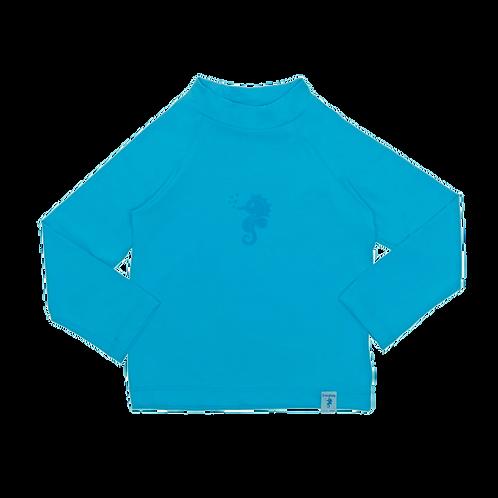 Blusa de proteção solar FPU 50+ Azul