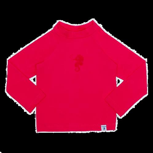 Blusa de proteção solar FPU 50+ Pink