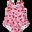 Thumbnail: Maiô com fralda embutida Frutas vermelhas