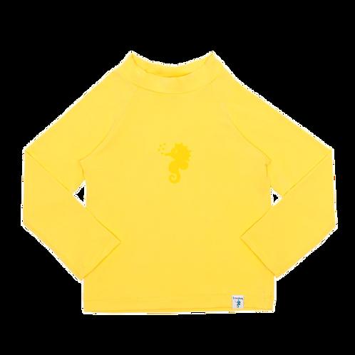 Blusa de proteção solar FPU 50+Amarela