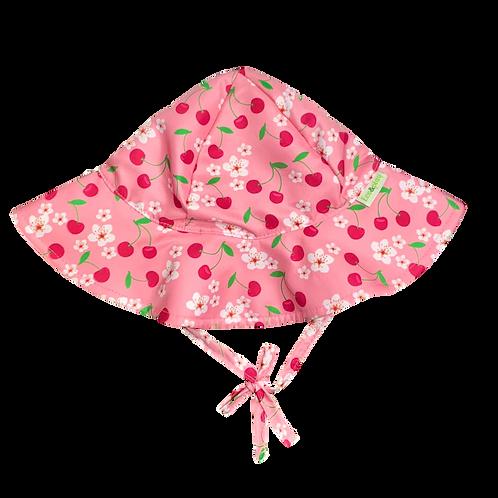 Chapéu de proteção Cereja Rosa