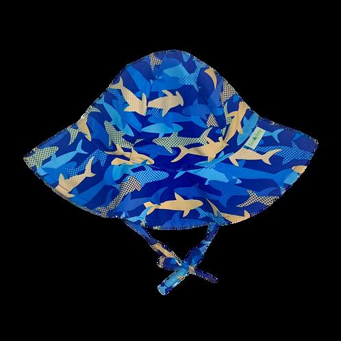 Chapéu de proteção Solar Tubarão
