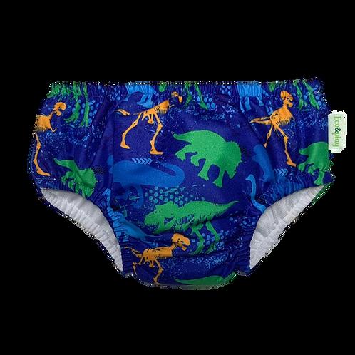 Fralda de banho e piscina Reutilizável Dinossauros