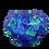 Thumbnail: Fralda de Banho e Piscina com botões Laterais Dinossauros