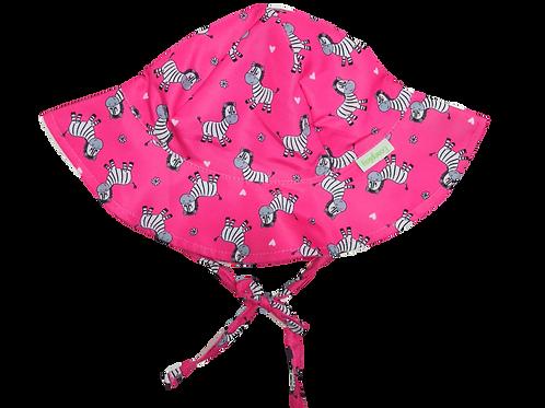 Chapéu de proteção Solar Zebra Pink