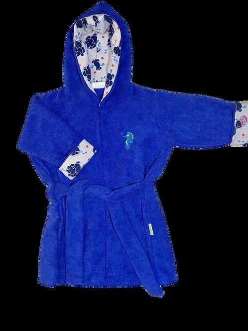 Roupão Infantil Azul