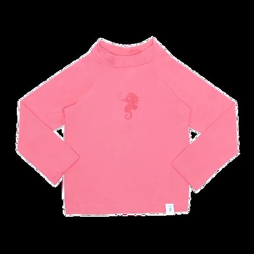 Blusa de proteção solar FPU 50+Rosa