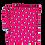 Thumbnail: Saco impermeável 2 em 1 Pinguim Rosa