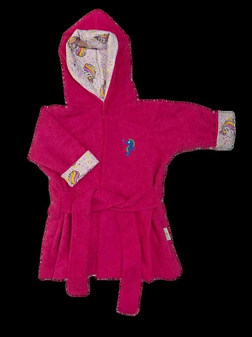 Roupão Infantil Pink