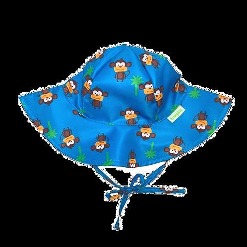 Chapéu de proteção solar Macaco