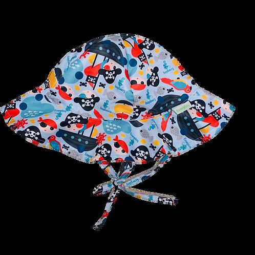 Chapéu de proteção Solar Piratinha