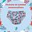 Thumbnail: Fralda de banho e piscina reutilizável - Coral