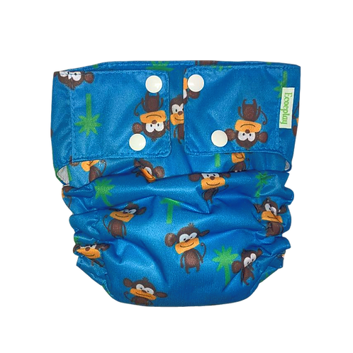 Fralda Ecológica Macaco