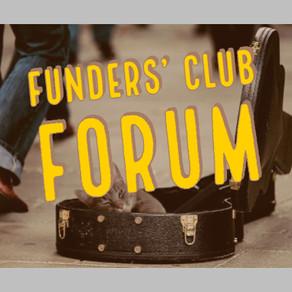Funders' Club Forum [Presentation]