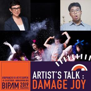 Artist's Talk: Damage Joy