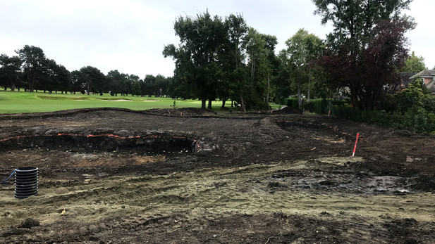Victoria Golf Club - Practice Area Development (Shaping)