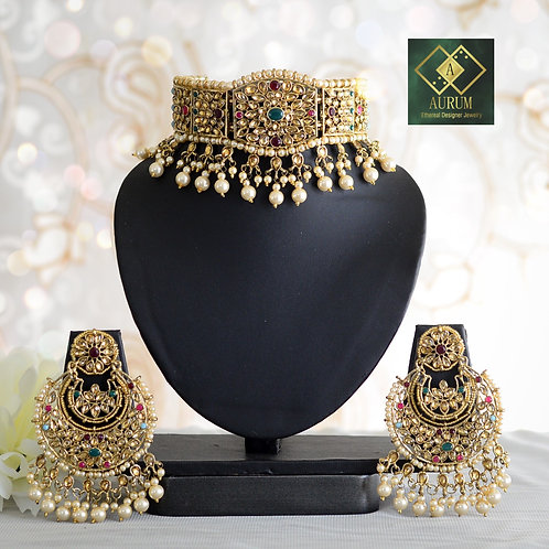 Rehmat Necklace set