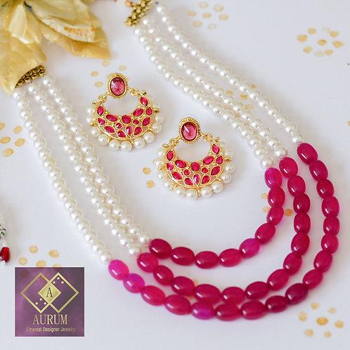 Nausheen Necklace Set