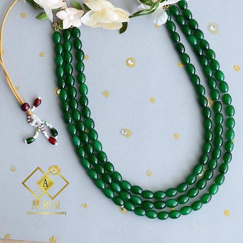 "Custom 18"" Glass beads malas"