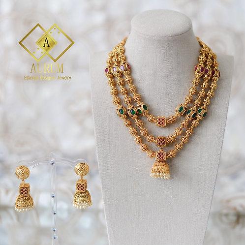 Thanusha Necklace set