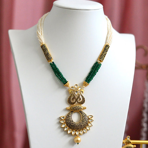 Haritha Necklace Set