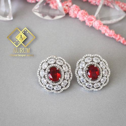 Tegan diamond earrings