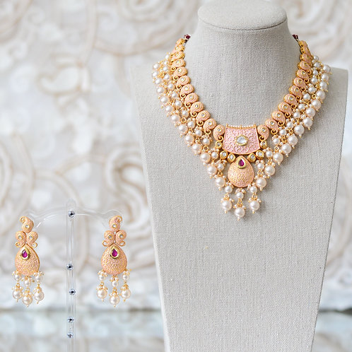 Ruhi Necklace set