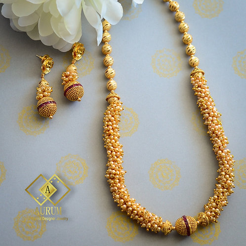 Madhavee Necklace set
