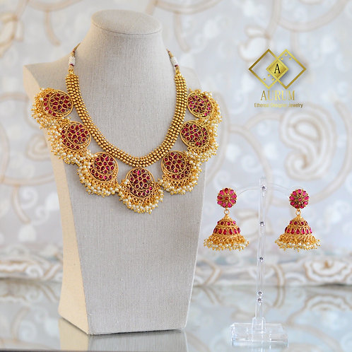 Gayatri Necklace set