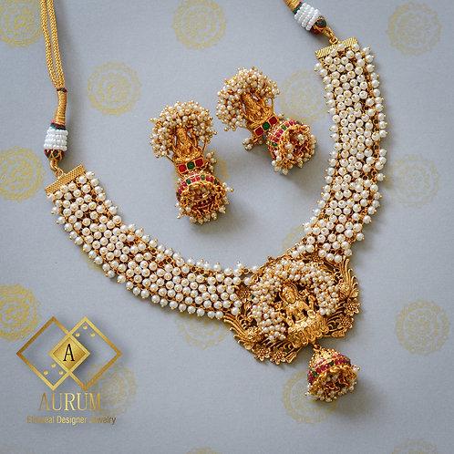 Lakshmi Necklace set