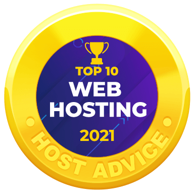 Myglobalhost received an award for the top 10 Web Hosting 2021