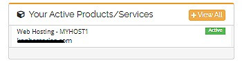 Proof that I have bought their services