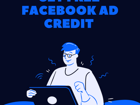 How to get free Facebook ad credit