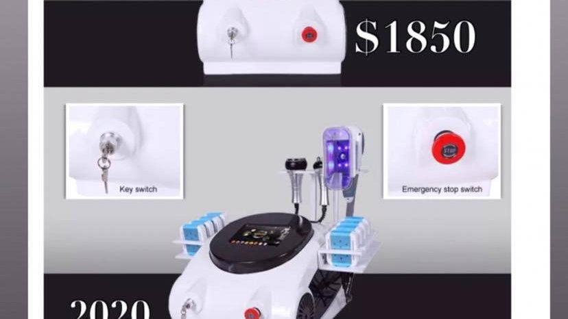 cavitation machine 10 in 1