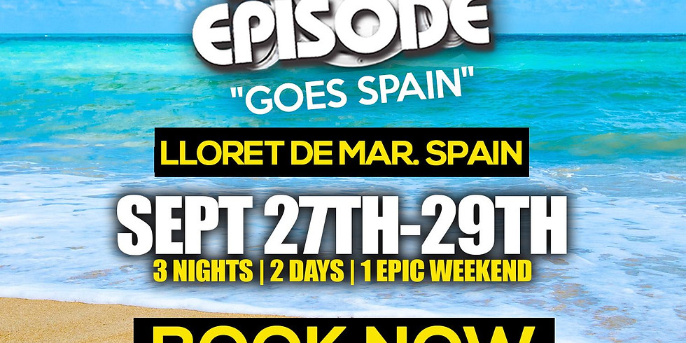 Dancehall Episode Goes Spain  Sept 27th- 29th 2019