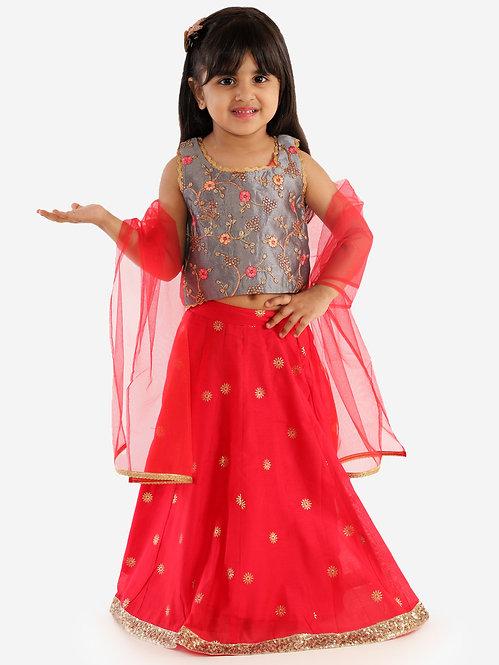 Ghaghra Choli With Dupatta Set